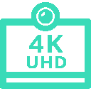 videoconferenza in 4k Ultra HD