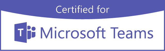certified for Micosoft Teams